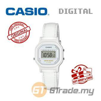 CASIO Kids Ladies LA-11WL-7A Digital Watch | Small Cute Petit Leather