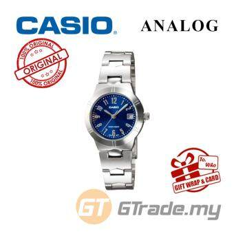 Harga CASIO Ladies LTP-1241D-2A2V Analog Watch | Petit Charm essential