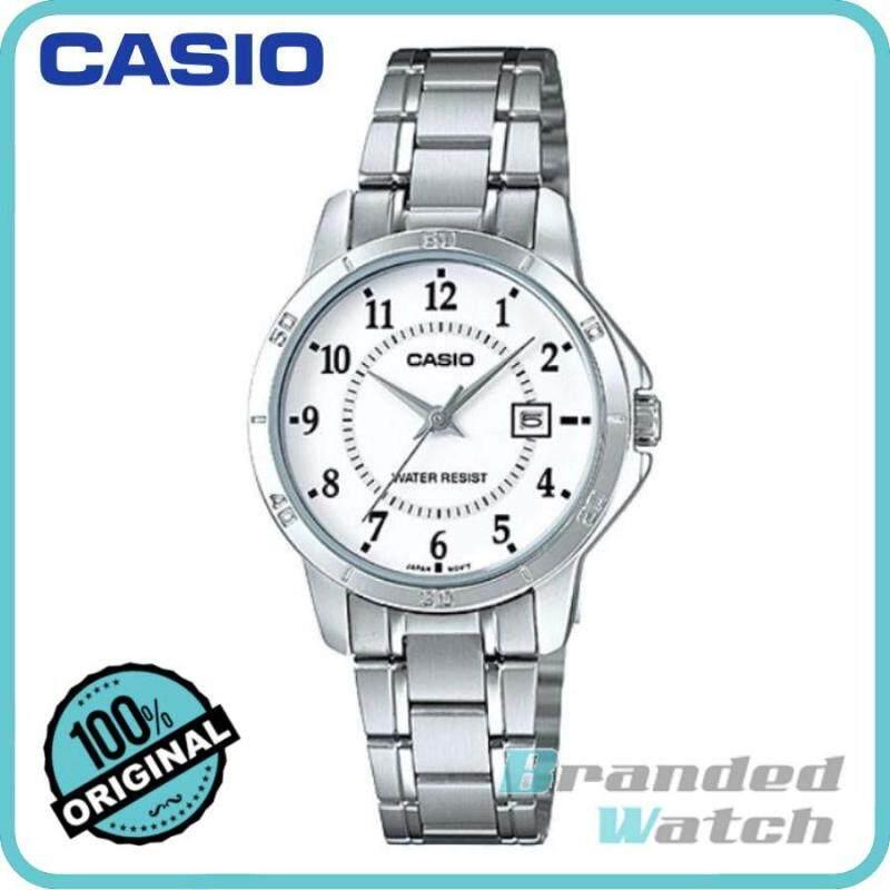 Casio LTP-V004D-7BUDF Womens Analog Date Steel Watch LTP-V004D-7B Malaysia