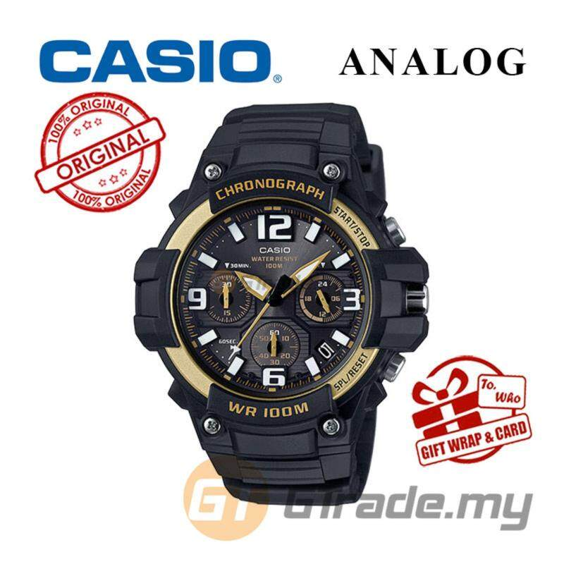 CASIO MEN MCW-100H-9A2V Analog Watch | Tough looking case Malaysia