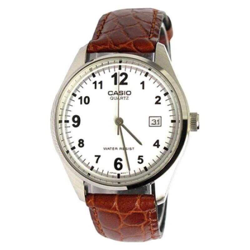 Casio MTP-1175E-7B Leather Analog Classic Men Watch Malaysia