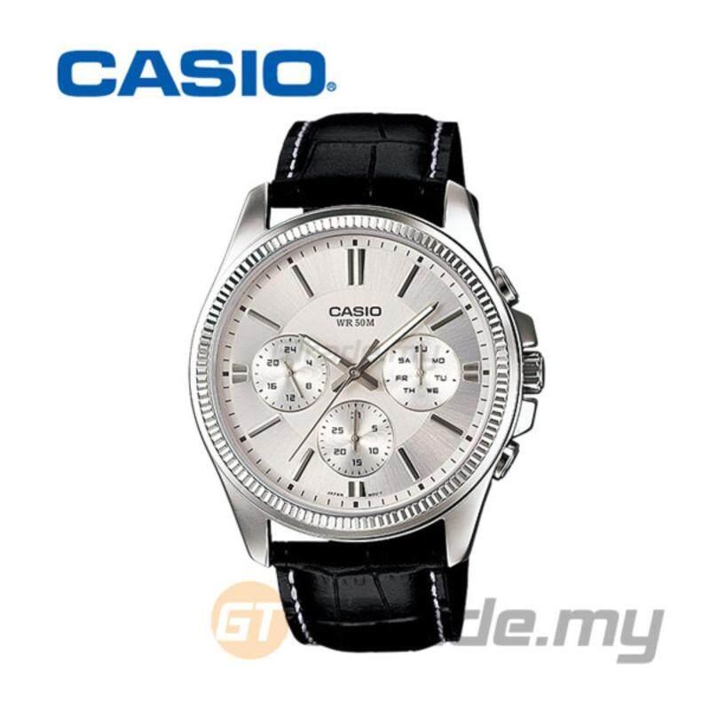 Casio Standard MTP-1375L-7AV Analog Mens Watch Multi-Hand 50M WR Malaysia