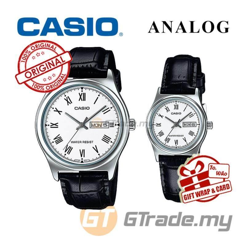 CASIO STANDARD MTP-V006L-7BV & LTP-V006L-7BV Analog Couple Watch Malaysia