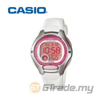 Harga Casio Women's White Resin Strap Watch LW-200-7AV