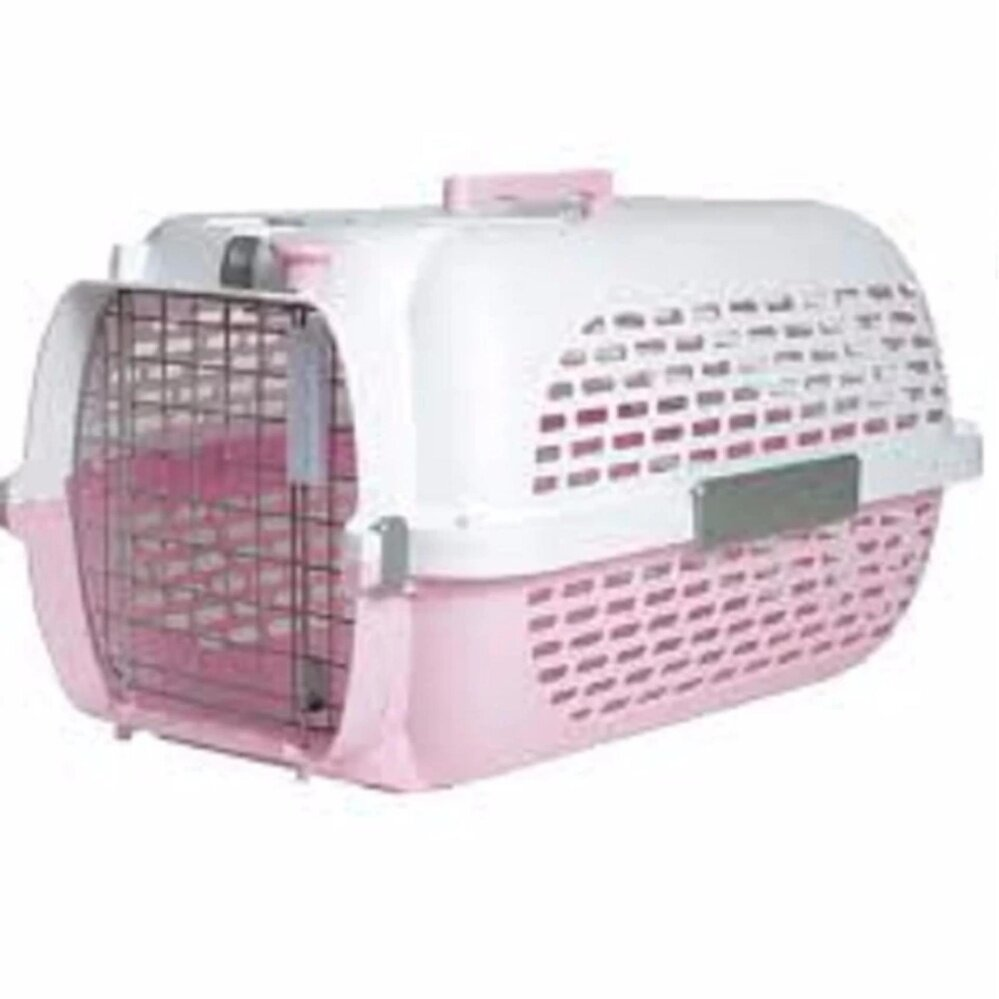 Catit Voyageur Cat Carrier-Small-Pink/White