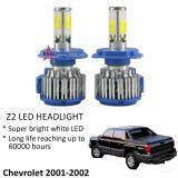 Broz Chevrolet 2001-2002 (Head Lamp) Z2 LED Light Car Headlight Auto Head light Lamp 6000k White Light