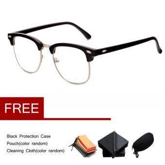 Clear Lens Frame Glasses Designer Optical RX Womens Mens Eyeglasses  Spectacles Black ecbd07ba638e