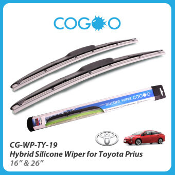 "Harga Cogoo Hybrid Silicone Wiper For Toyota Prius 16"" & 26"" -CG-WP-TY-19"