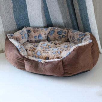 Nyaman Hangat Tempat Tidur untuk Hewan Peliharaan Anjing Lembut Tempat Tidur Kucing Tikar .