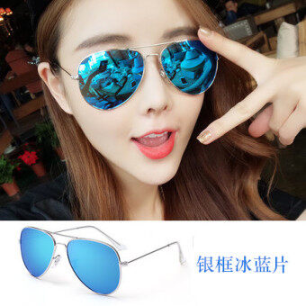 Cool for men and women colorful aviator sunglasses
