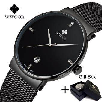 Features Sb40 Ultra Thin Men S Watches Luxury Leather Strap Casual