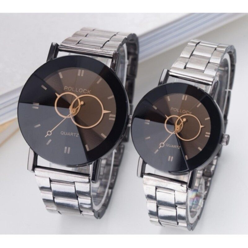 COUPLE Lovers Watch Stainless Steel  Watch Unisex Malaysia