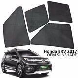 Broz Custom Fit OEM Sunshades/ Sun shades for Honda BRV 2017 (4PCS)