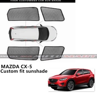 Harga Custom Fit OEM Sunshades/ Sun shades for Mazda CX-5 - 4pcs