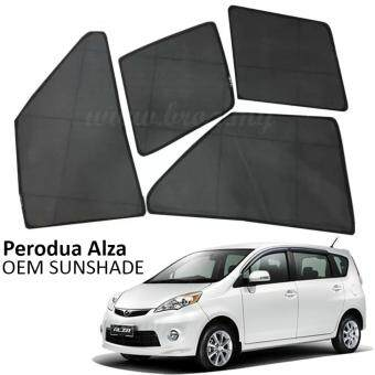 Harga Custom Fit OEM Sunshades/ Sun shades for Perodua Alza (6PCS)