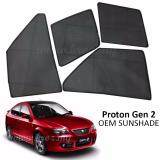 Broz Custom Fit OEM Sunshades/ Sun shades for Proton Gen 2 (4PCS)