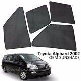 Broz Custom Fit OEM Sunshades/ Sun shades for Toyota Alphard 2002-2007 (6PCS)