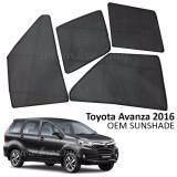 Broz Custom Fit OEM Sunshades/ Sun shades for Toyota Avanza 2012-2016 (6PCS)