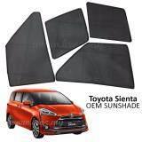 Custom Fit OEM Sunshades/ Sun shades for Toyota Sienta 2016 (6PCS)
