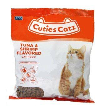 Cuties Catz Cat Food 400g x 22 packets (8.8kg) Tuna&Shrimp Flavored