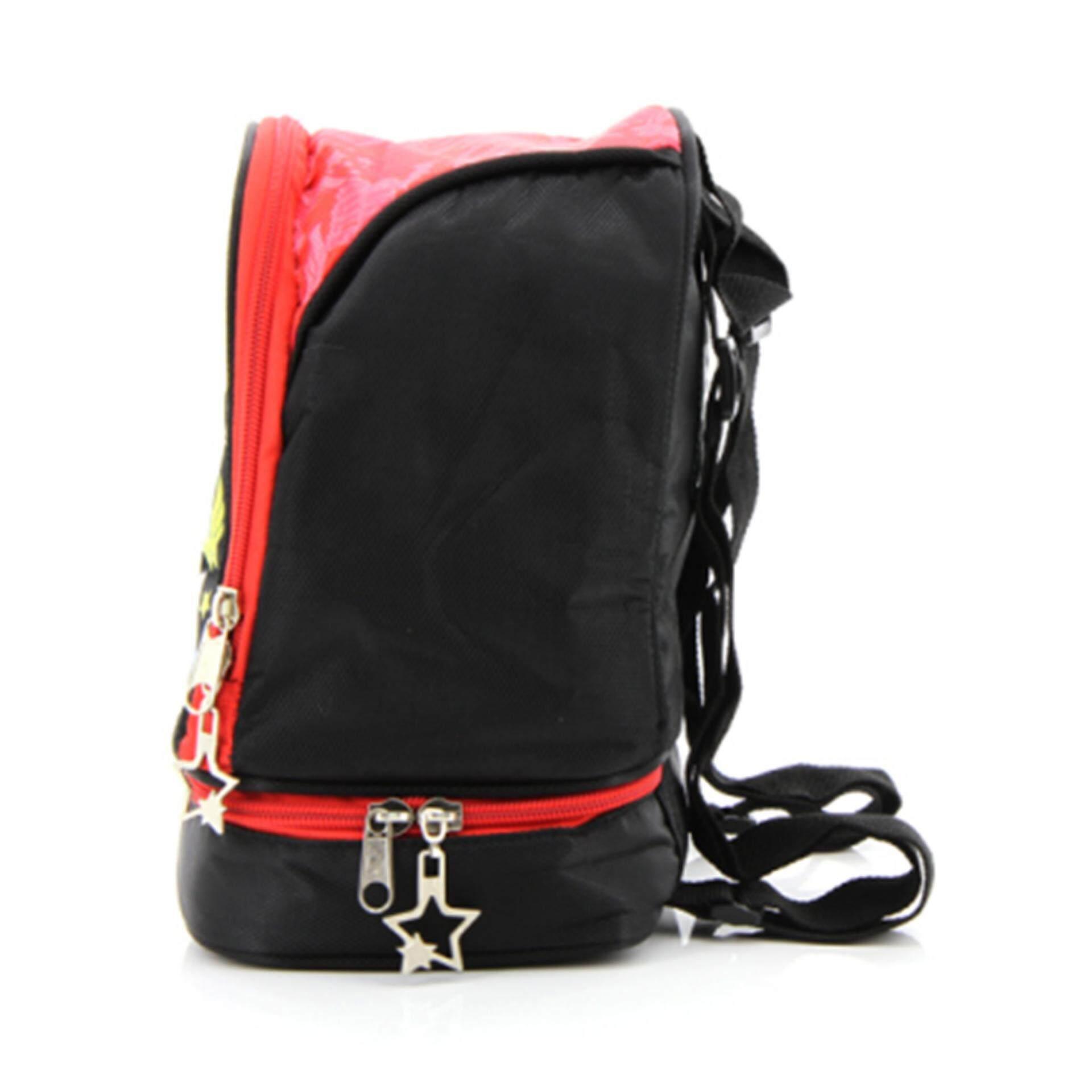 DC Comics Super Hero Girls Lunch Bag - Black Colour
