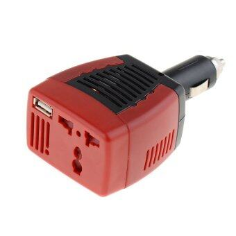 Harga DC TO AC 75W Main Car Power Inverter Converter Charger
