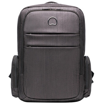 Delsey CLAIR 2-CPTS BACKPACK PC – Black
