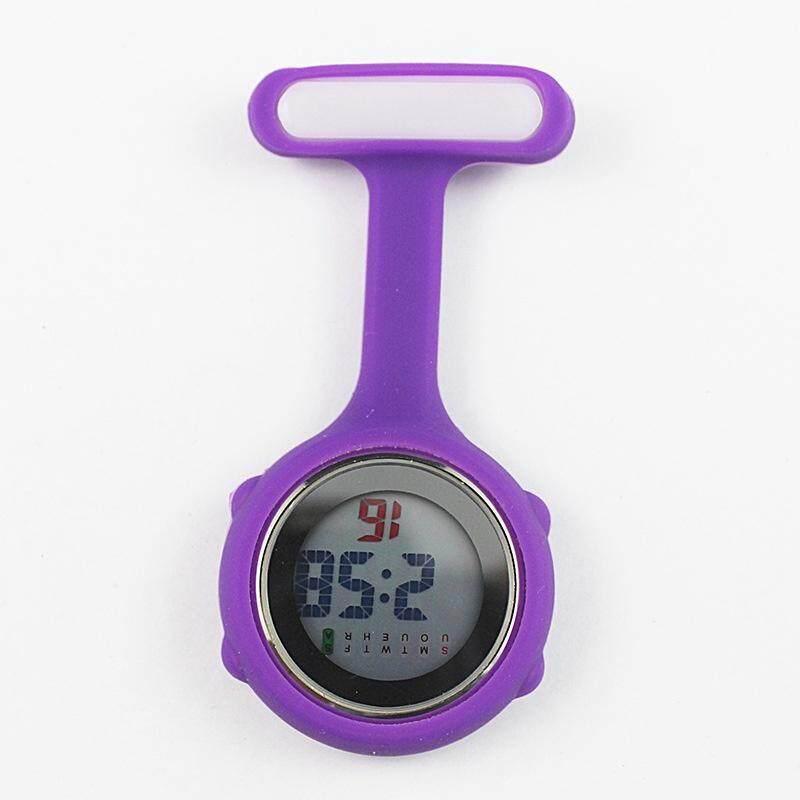 Digital Multi Function Silicone Nurses/Brooch/Tunic/Fob/Pocket/Carabiner Watch Malaysia