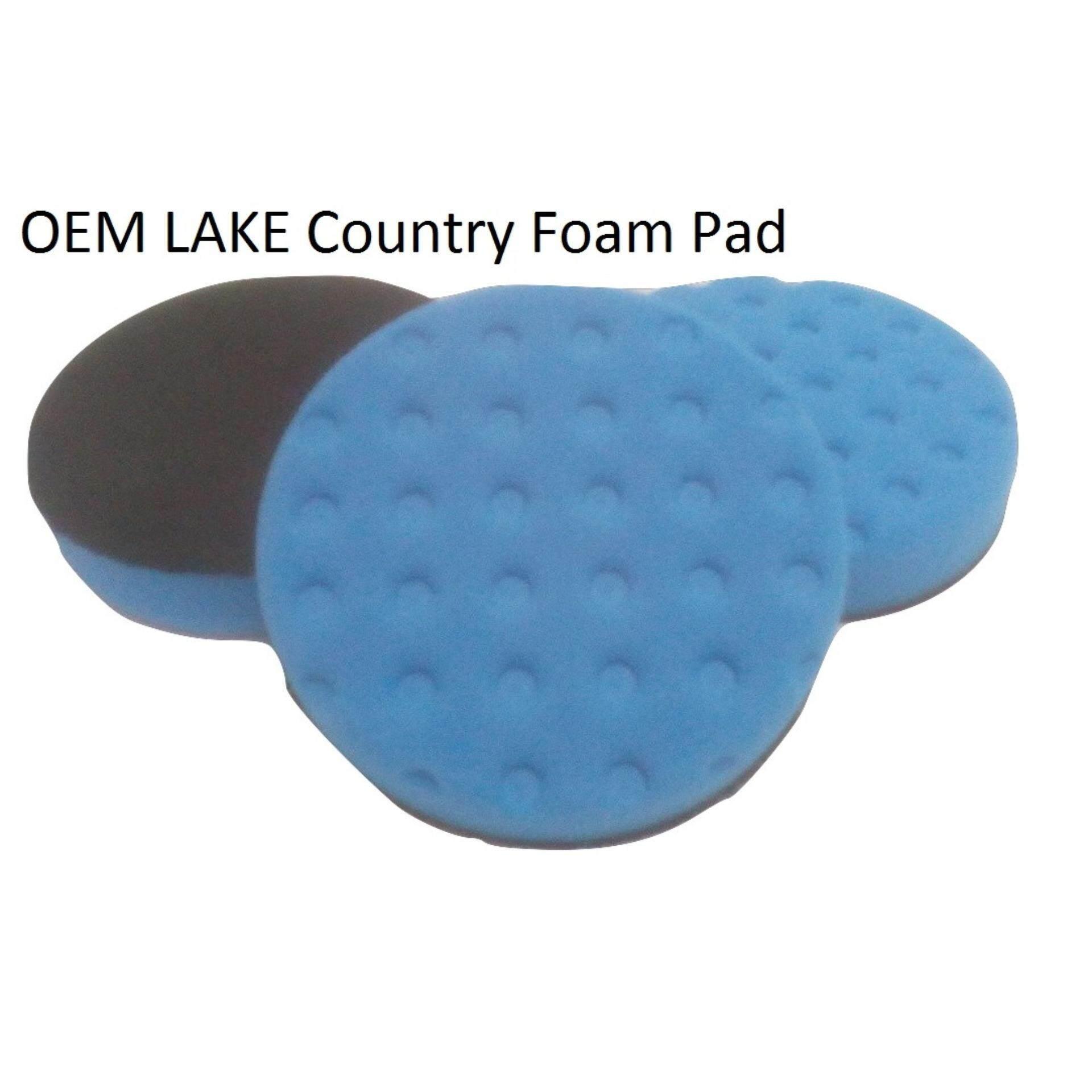 Direct OEM Lake Country factory 5 inch Blue Finishing Foam Pad CCS tech