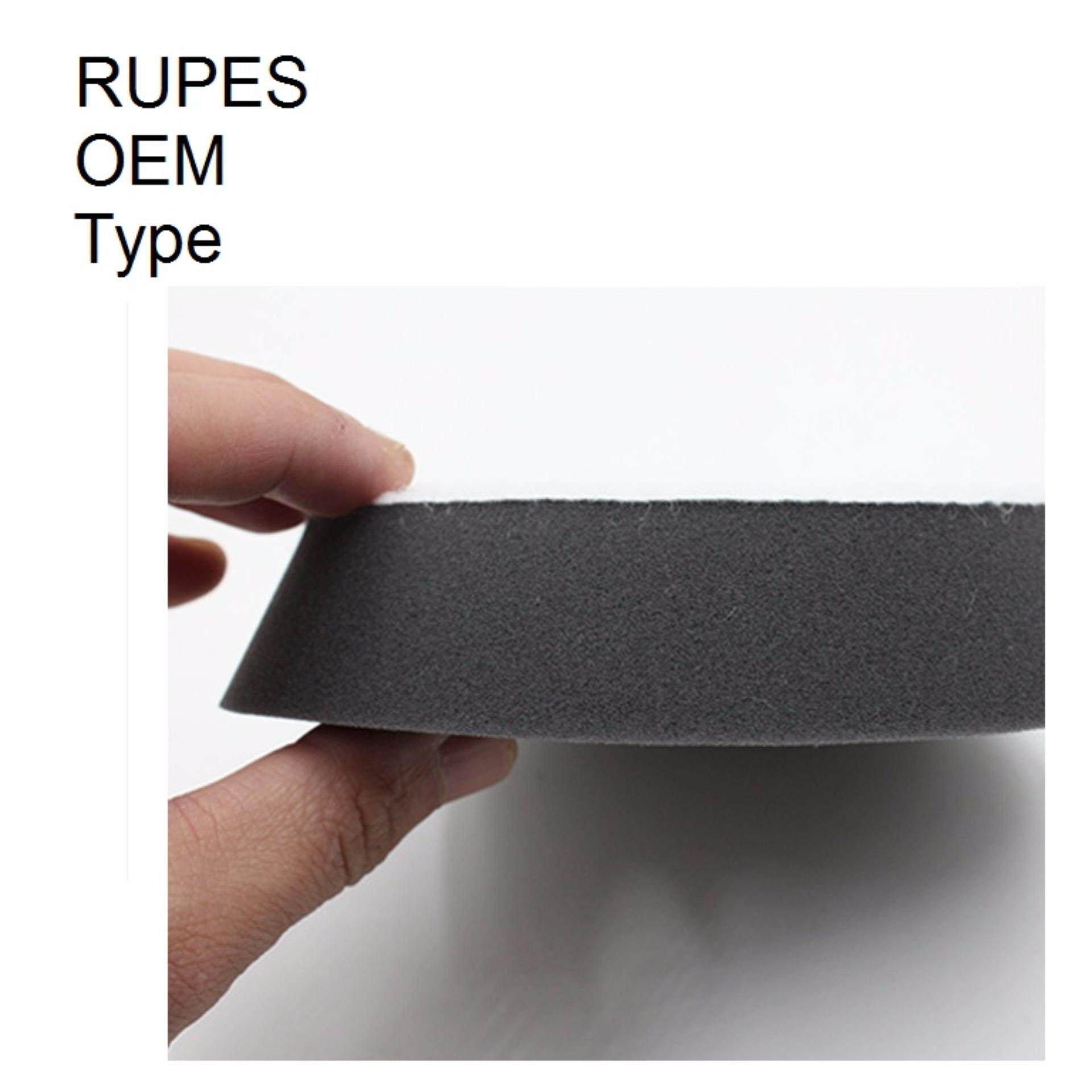 Direct OEM Rupes type from factory 6 inch Foam Finishing DA sponge pad for 5 inch disc