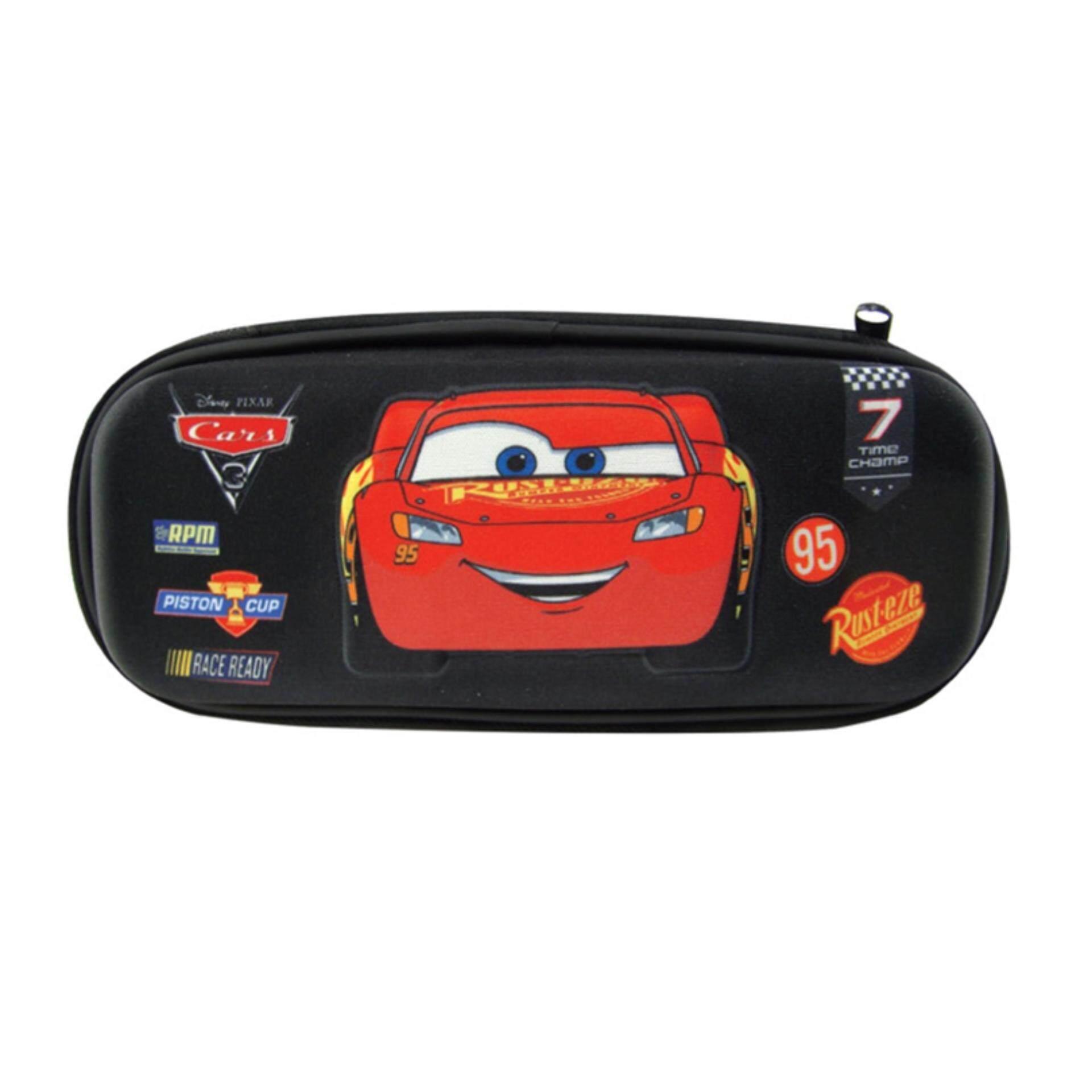 Disney Pixar Cars 3 Eva Pencil Bag - Black Colour