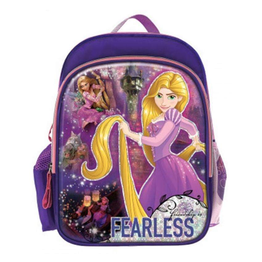 587d52c494c7 Disney Princess Backpack School Bag 12 Inches - Rapunzel