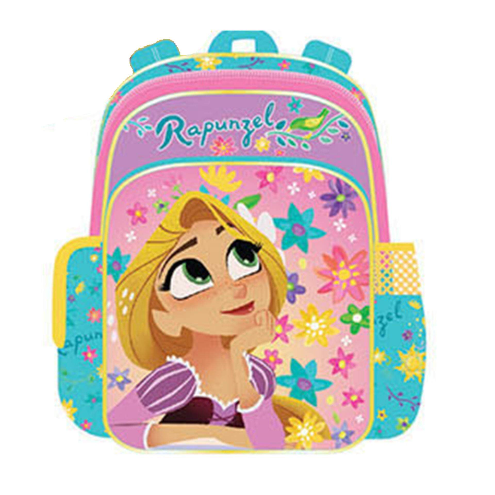 Disney Princess Tangled Backpack School Bag 10 Inches - Pink Colour