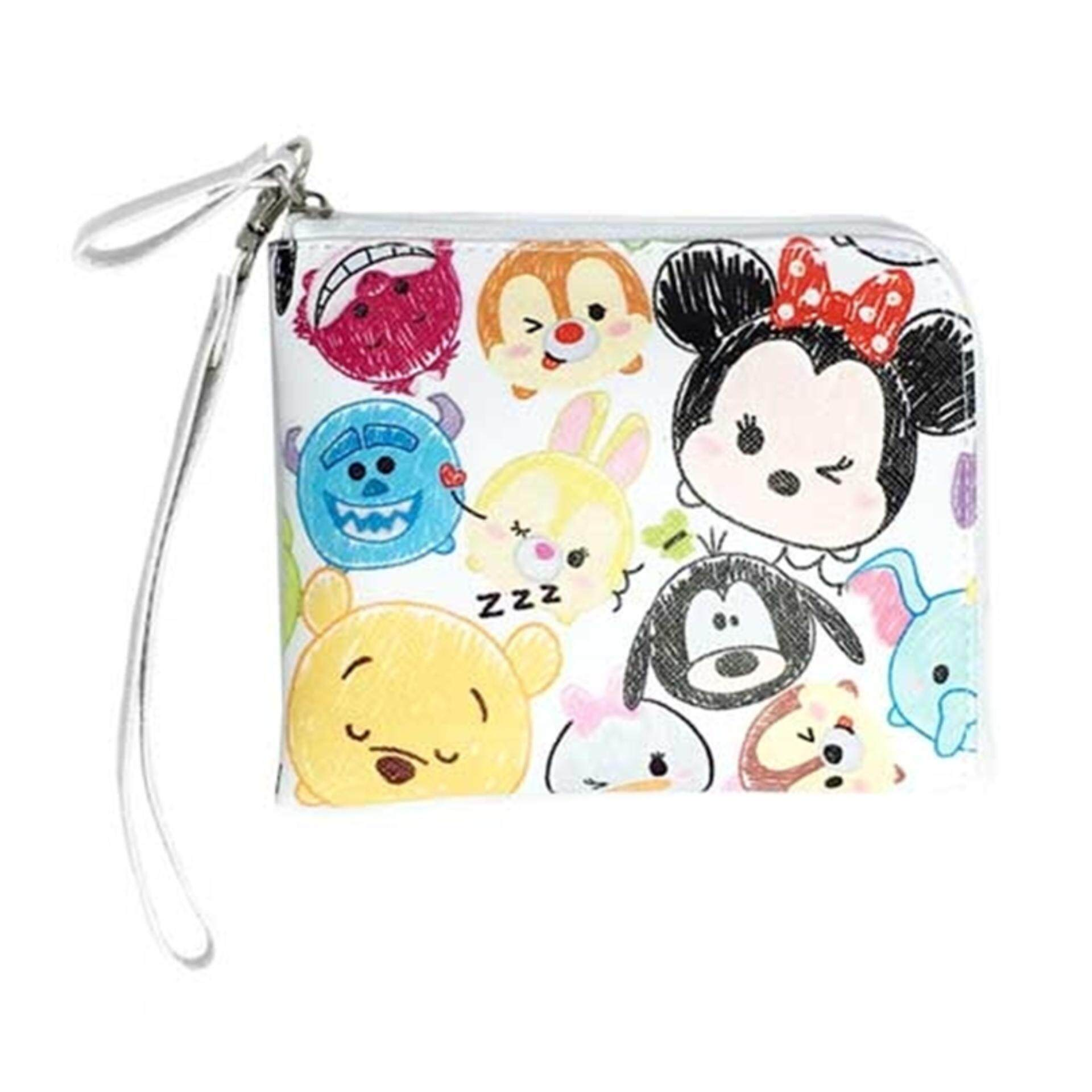 Disney Tsum Tsum Coin Pouch - White Colour