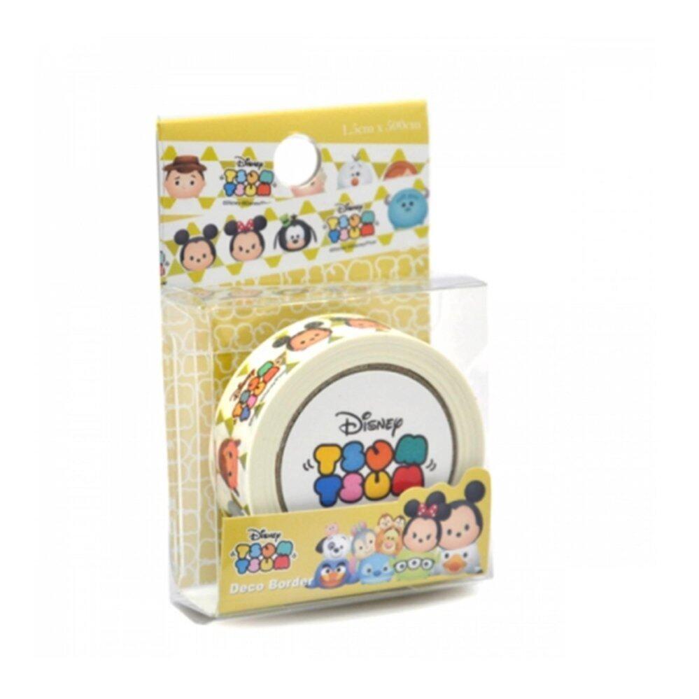 Disney Tsum Tsum Deco Border Sticker - Mickey & Minnie