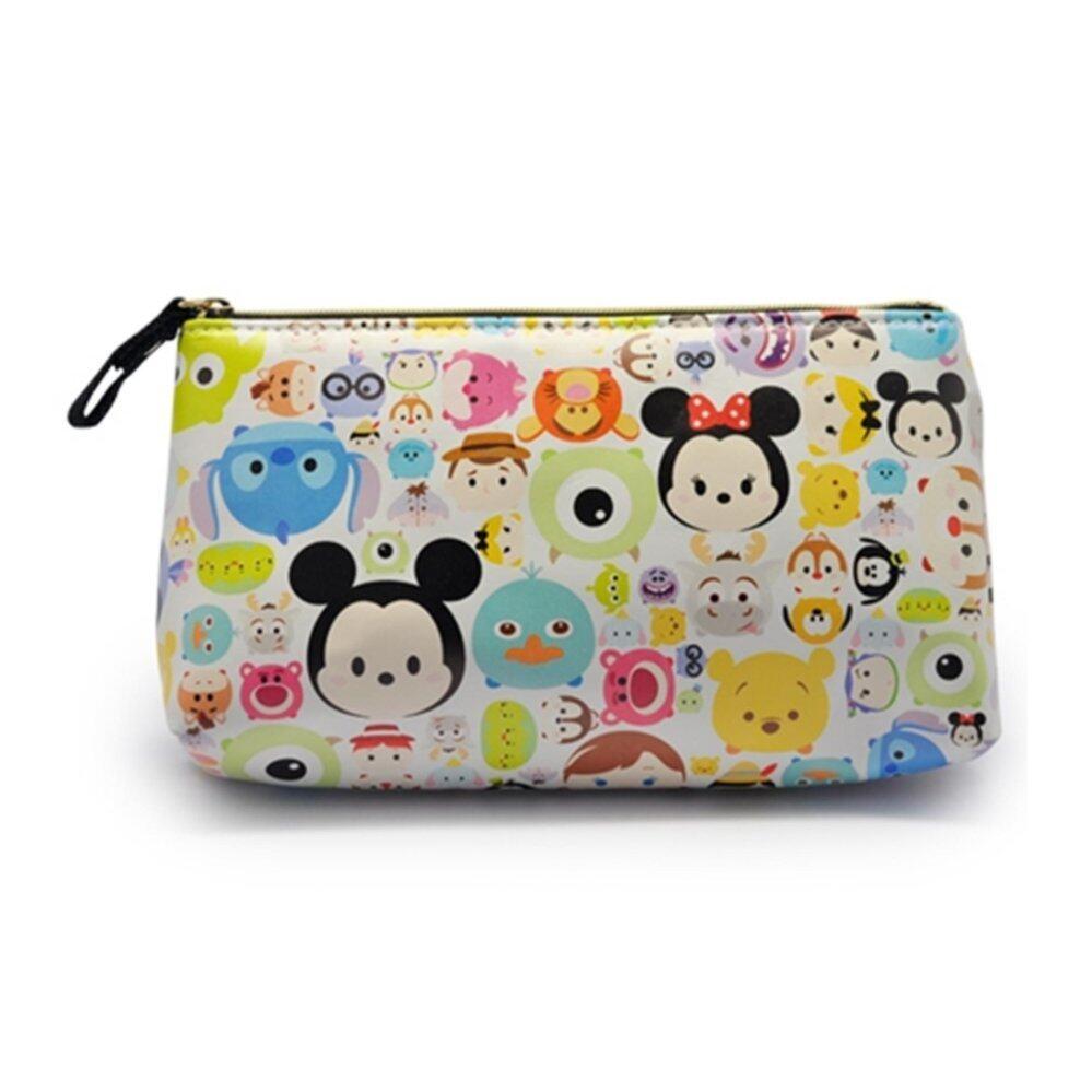 Disney Tsum Tsum Hand Pouch Bag - White Colour