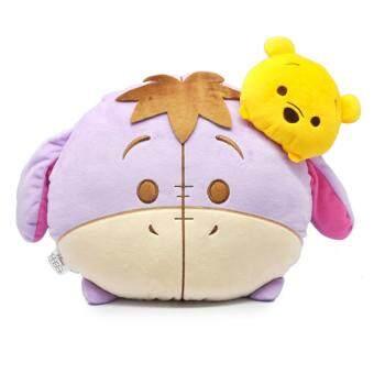 Disney Tsum Tsum Two Head Cushion - Eeyore & Pooh