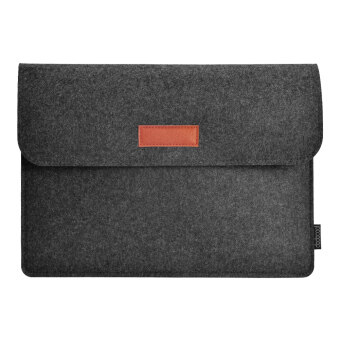 "Harga dodocool 12 Inch Laptop Felt Sleeve Envelope Cover Ultrabook Carrying Case Notebook Protective Bag with Mouse Pouch for 12"" MacBook / 11"" MacBook Air / 12"" Surface Pro 3 and More Dark Gray"