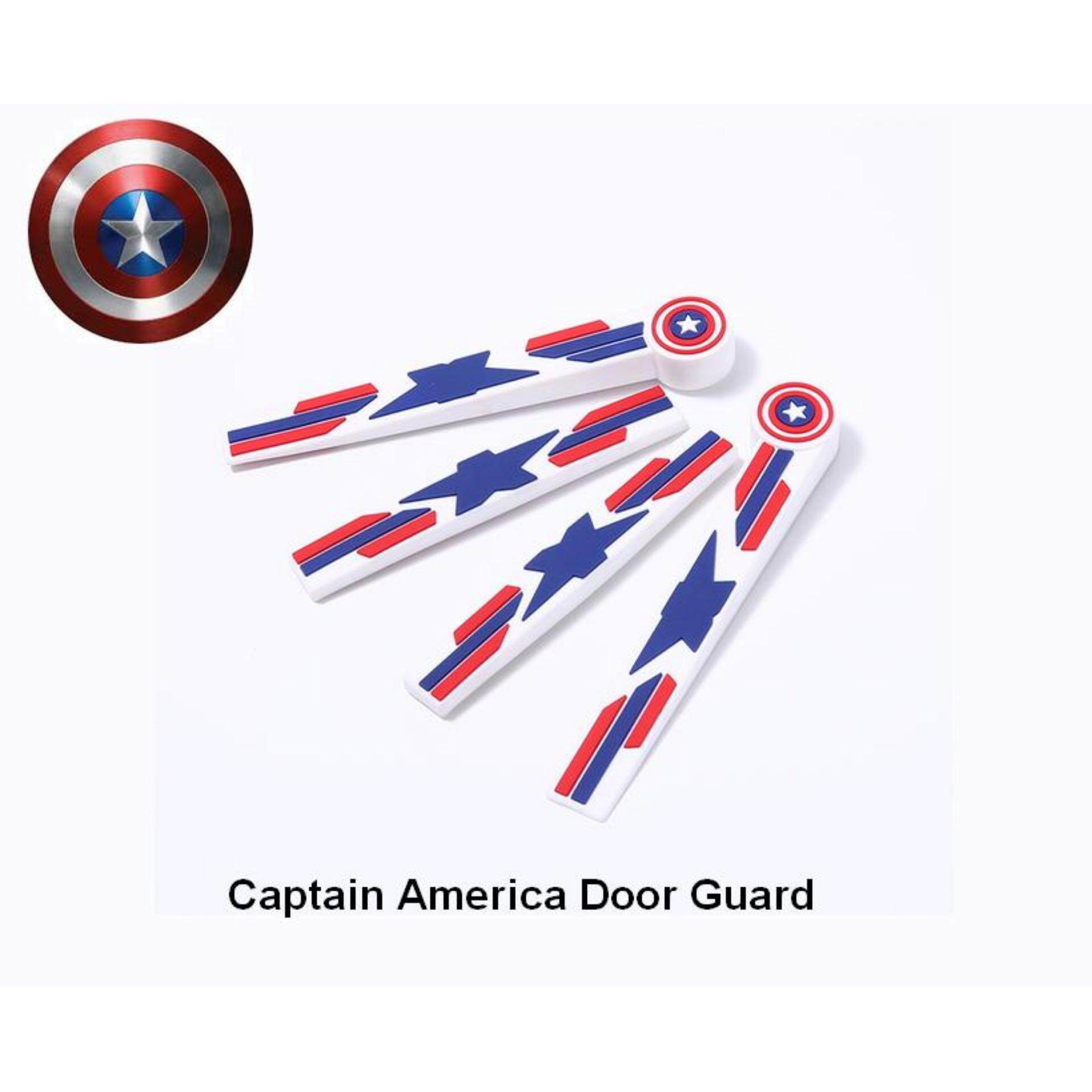 Door Guard Captain America High Quality DIY Stick Prevent Door scratches