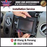 Broz Double Din Player Installation Service in Penang and Klang Area