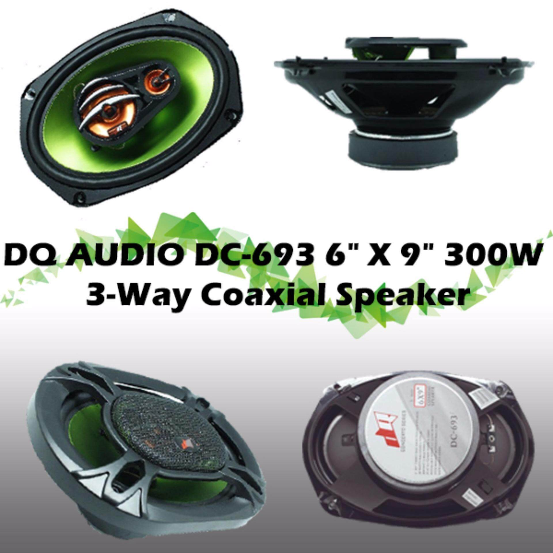 DQ Audio DC-693 3-Way Coaxial Speaker -Made in USA