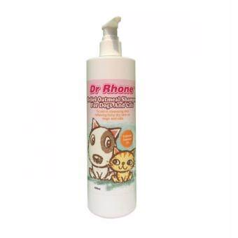 Harga DR RHONE RELIEF OATMEAL SHAMPOO 480ML FOR DOG AND CAT