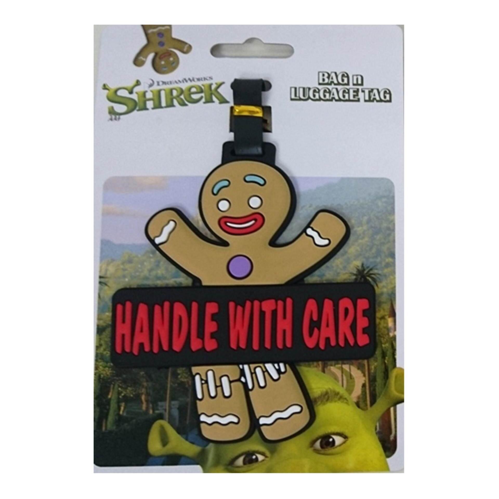 Dreamworks Shrek Luggage Tag - Gingry
