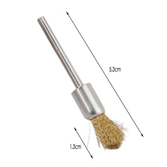 Durable Motorcycle Grinder Polished Derusting Metal Wire Brush Tool-Small - 2