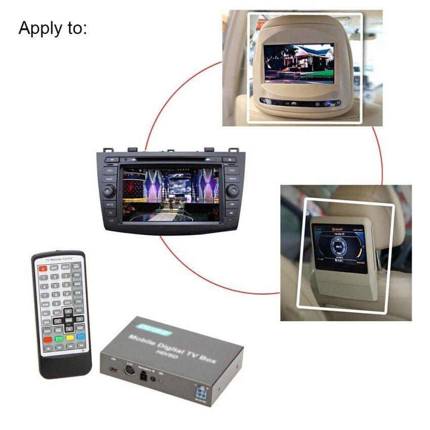 Dvb-t HD/SD Berbagai Channel Seluler Mobil Kotak Televisi Digital Mini Tvanalog Tuner Tinggi Kecepatan 240 Km/h Sinyal Kuat penerima untuk Carmonitor-Internasional
