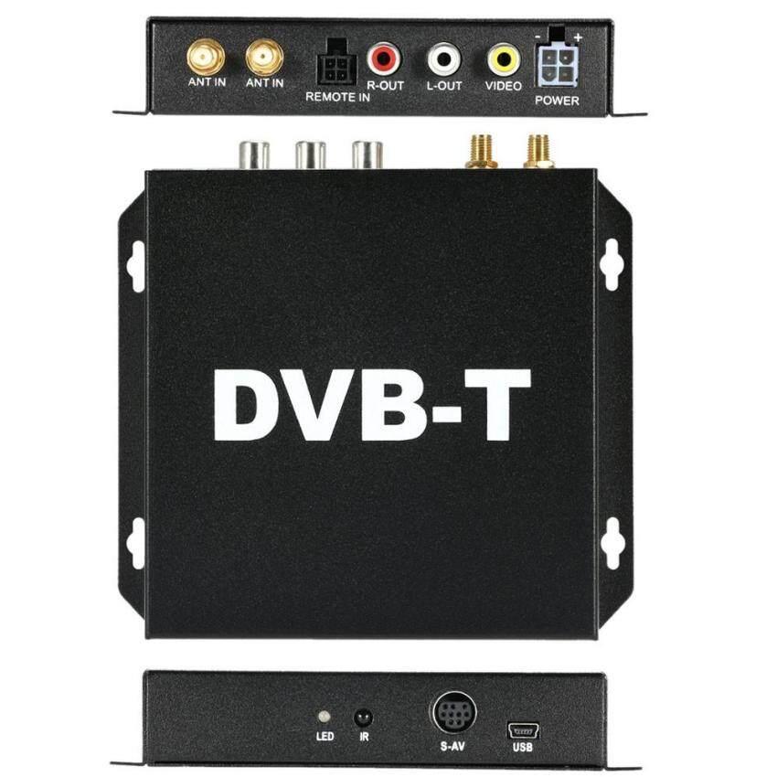 Dvb-t Berbagai Channel Seluler Mobil Kotak Televisi Digital Analog Mini Tvtuner Tinggi Kecepatan 240 Km/h Penerima Sinyal Kuat untuk Mobil monitor-Internasional