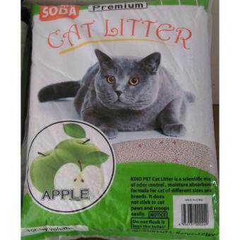 Harga ECO Cat Litter 10L Apple x 3