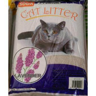 Harga ECO Cat Litter 10L Lavender x 3