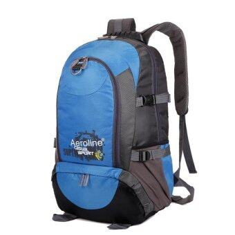 EcoSport AEROLINE 35L Waterproof Outdoor Hiking Backpack (Light Blue)