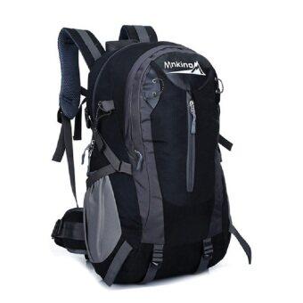 EcoSport MNK Professional Outdoor Hiking Backpack Bag 40L (Black)